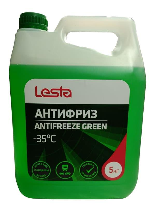 Антифриз ANTIFREEZE GREEN -35°C 5 кг.